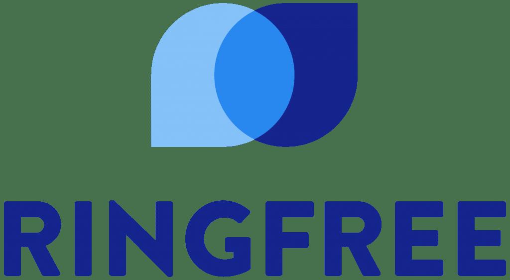 Ringfree stacked logo